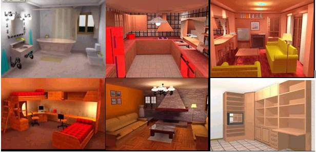 Practicos De Decoración De Interiores Y Diseño De Jardines Por Ordenador