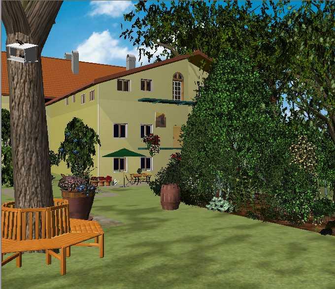 Formacion tecnico profesional aulas virtuales for Diseno jardines 3d